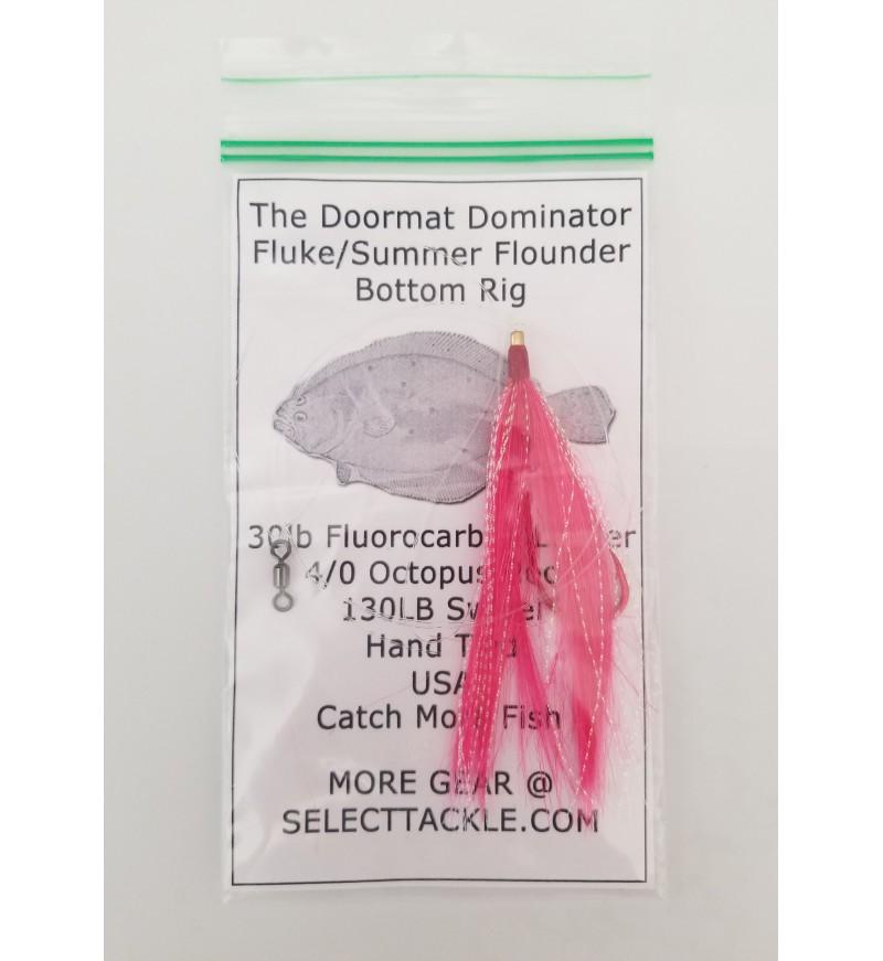 """3 """"Doormat Dominator"""" Fluke/Summer Flounder Rigs (3 Complete Rigs)"""